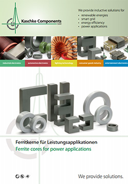 Ferrite cores for power application Products -  for Noise suppression and power transmission