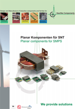 Planar components for SMPS