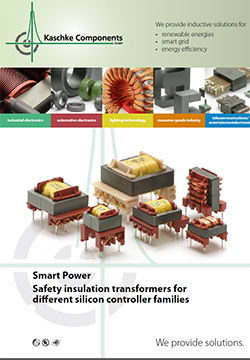 Smart Power                     Safety insulation transformers for different silicon controller families