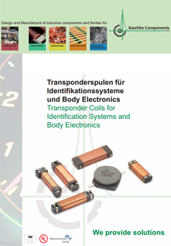Transponder Coils for Identification Systems and Body Electronics